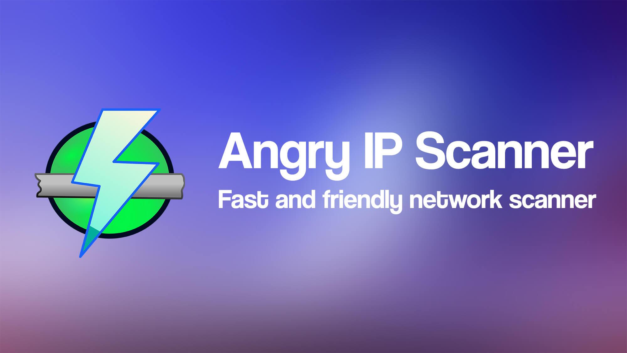 Angry ip Scanner کالی لینوکس
