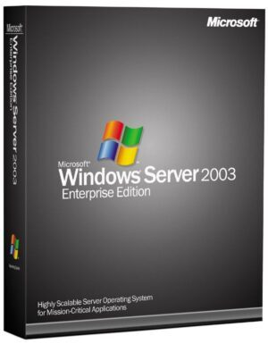 Windows Server 2003 R2 Enterprise 32Bit SP2