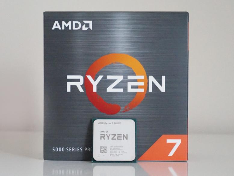 پردازنده AMD مدل AMD Ryzen 7 5800X