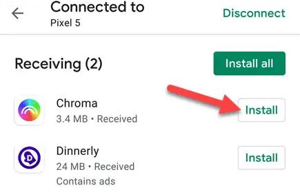 نحوه ارسال برنامه ها بین دستگاه های اندروید با Nearby Share