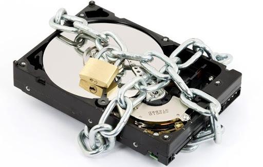 رمزگذاری هارد دیسک