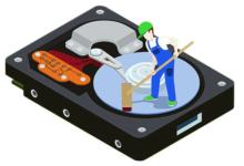 پاک کردن هارد دیسک