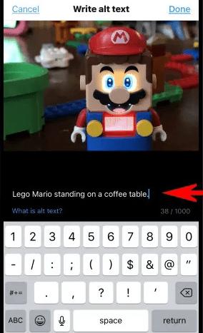نحوه افزودن alt text به تصاویر در توییتر