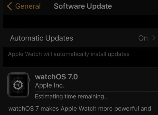 آپدیت اپل واچ با استفاده از ایفون