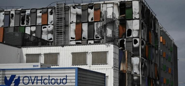 آتش سوزی در دیتاسنتر OVH فرانسه | (SBG2)