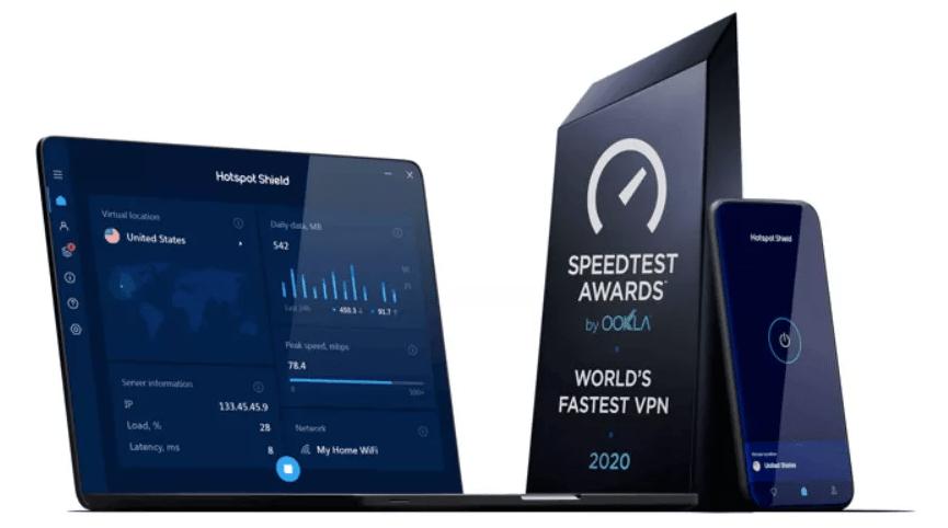 بهترین نرم افزار رایگان تغییر آیپی Hotspot Shield Free VPN