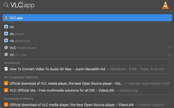تبدیل فیلم به صدا با برنامه VLC در مک