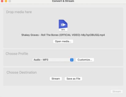 جداکردن صدا از فیلم با برنامه VLC در مک