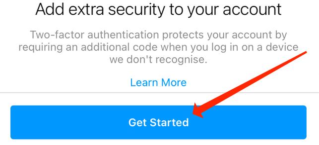 فعالسازی Two-Step Verification در اینستاگرام