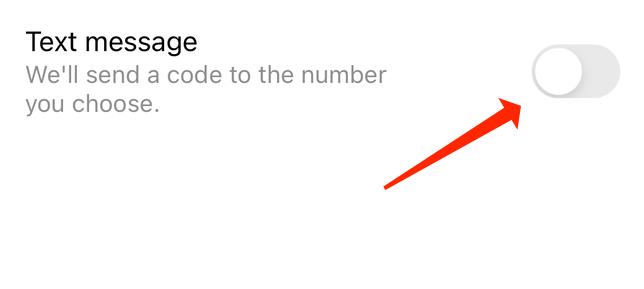 فعال کردن رمز دو مرحله ای پیامکی در اینستاگرام